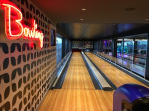 bowlingbanen op de msc grandiosa
